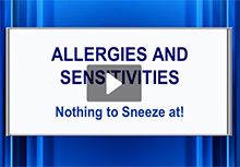 Allergies AND Sensitivities